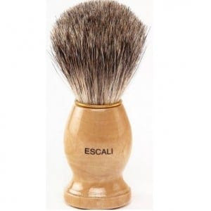 escali shaving brush review