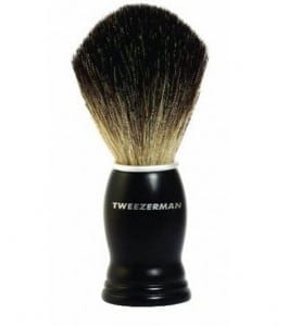 tweezerman shaving brush