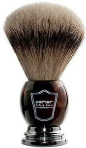 buy parker silver tip shaving brush