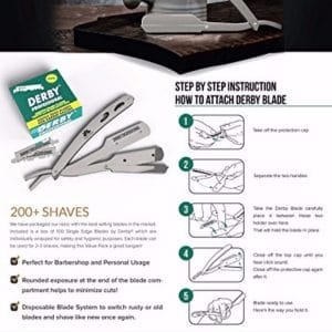 Professional barber qaulity razor